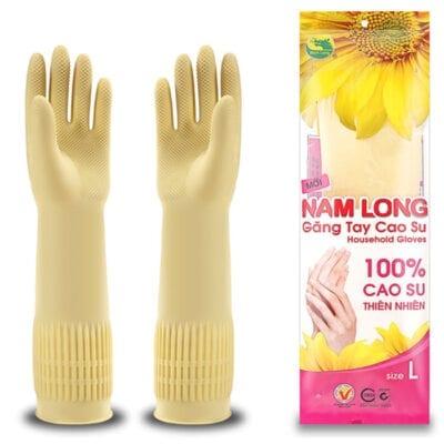 găng tay cao su dân dụng