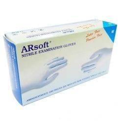 Găng tay cao su không bột Extra Arsoft Nitrile