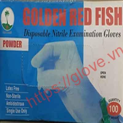 Găng tay cao su có bột Golden Fish