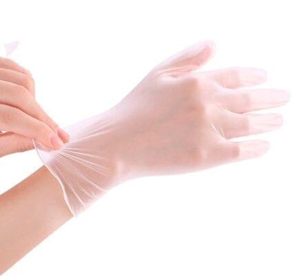 gang tay cao su vinyl gloves