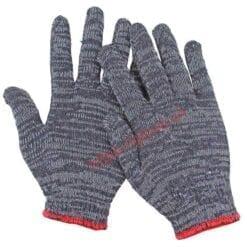 Găng tay sợi cotton dệt máy 7 kim loại 60gam