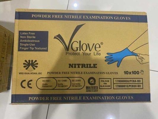 Găng tay y tế nitile không bột