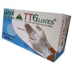 Gang tay cao su y tế latex có bột TTglove
