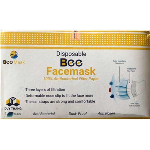 Khẩu trang y tế Bee Facemask